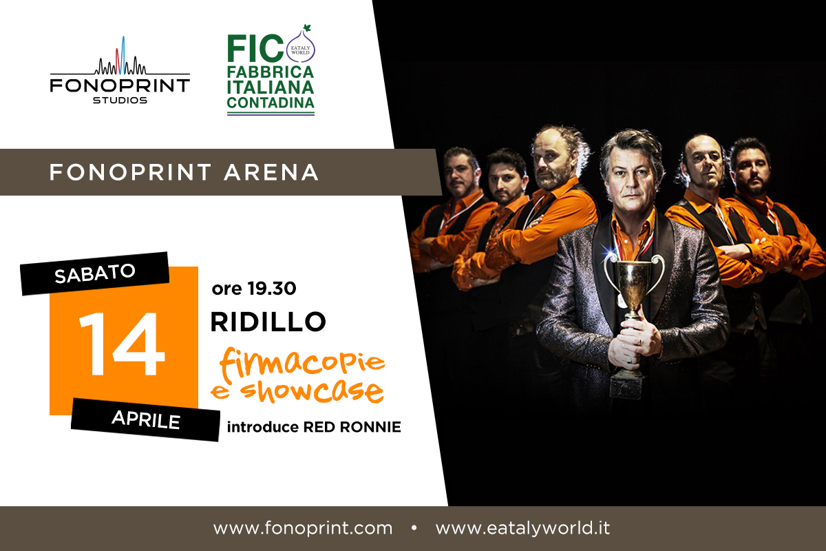 """Pronti, Funky, Via!"": i RIDILLO @ Fonoprint Arena"